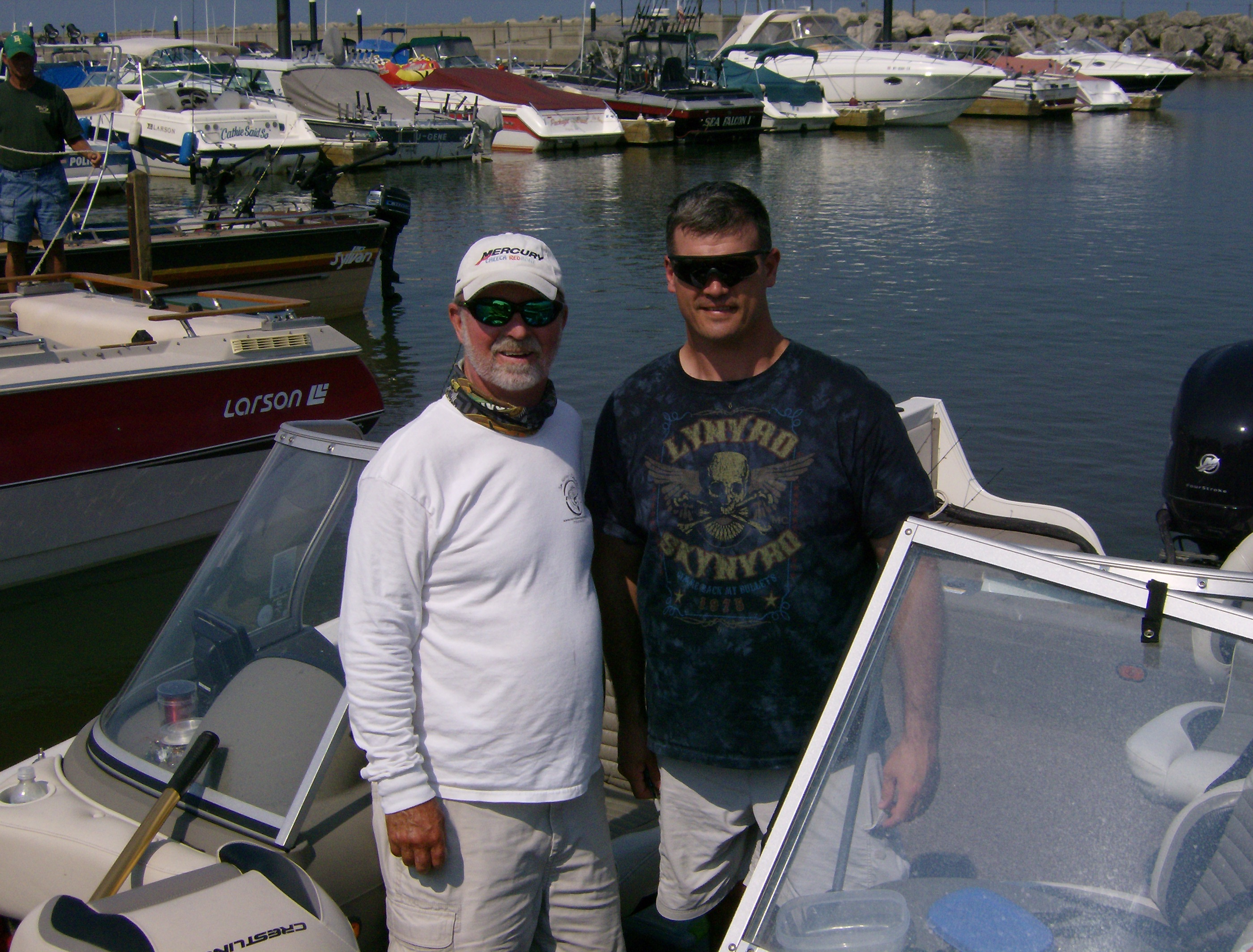 Col shawn prickett and captin jim hanley lake erie for Fishing in buffalo ny
