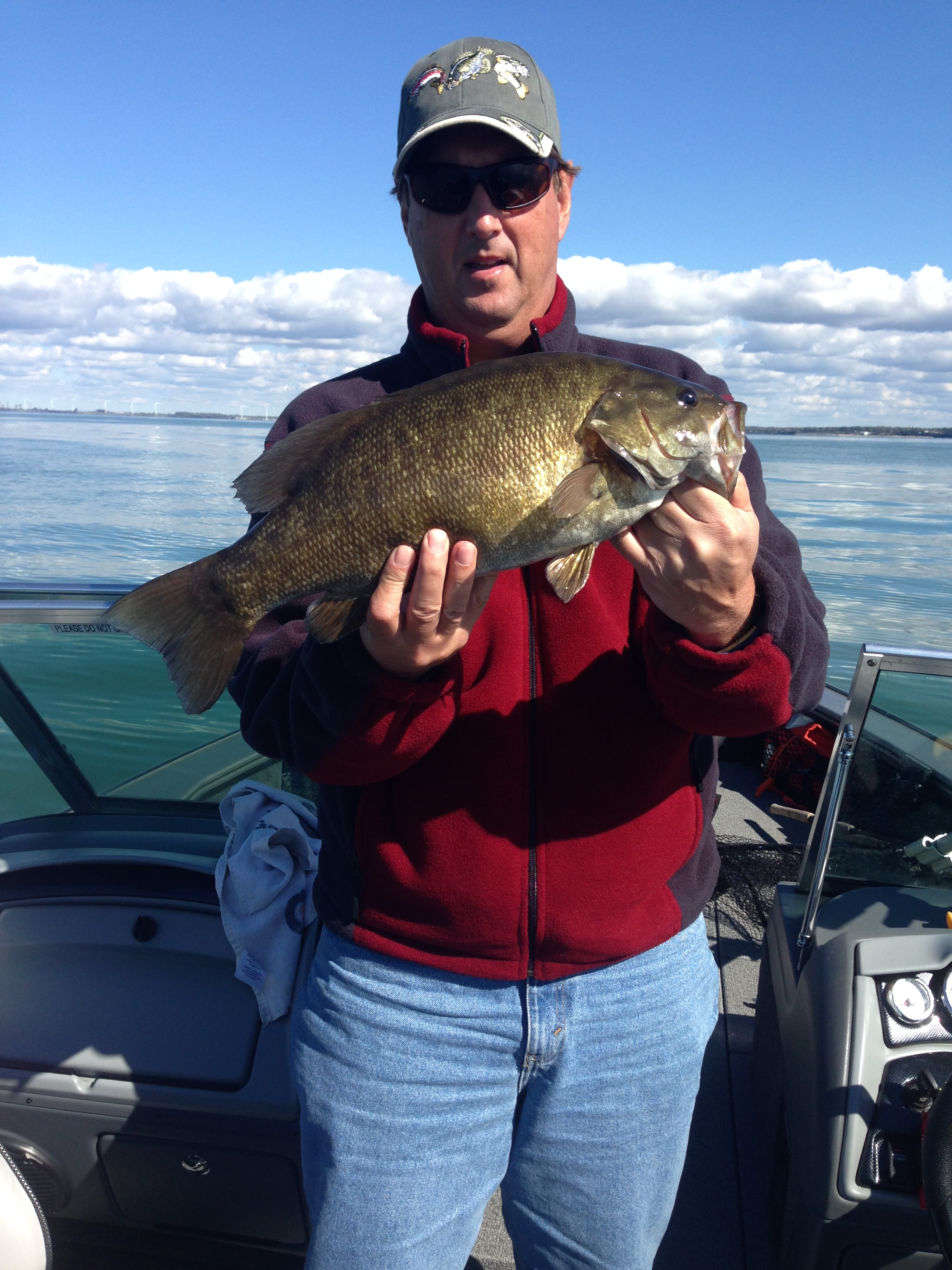 some pictures from october fishing on lake erie near